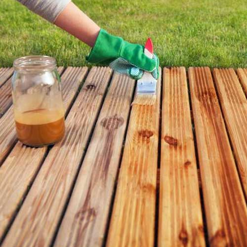 deck staining near me